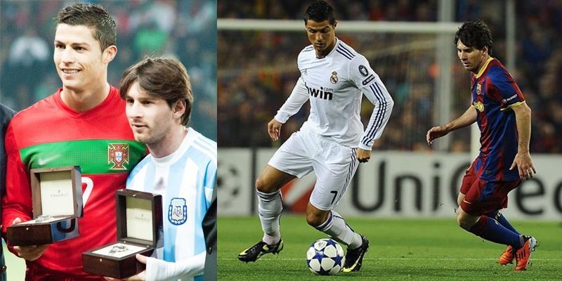 """""""Nghẹt thở"""" những khoảnh khắc đối đầu khó quên giữa Ronaldo và Messi"""