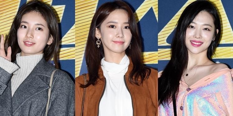 yan.vn - tin sao, ngôi sao - Yoona, Suzy và Sulli bất ngờ đụng độ, đọ sắc không ai chịu thua ai