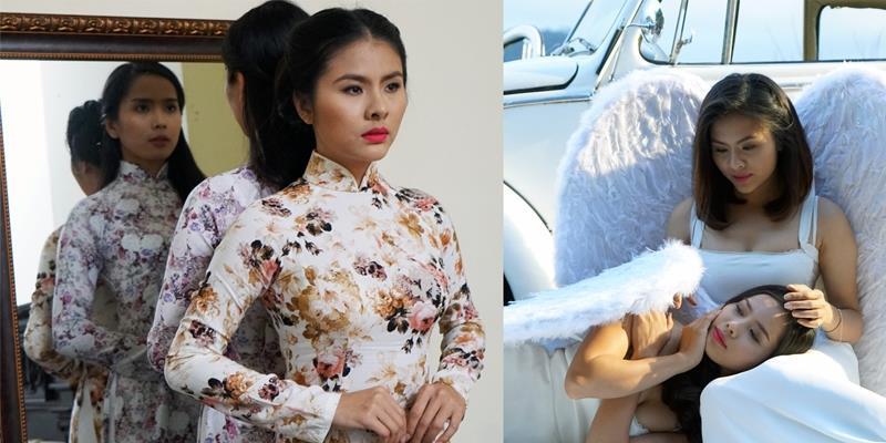 """Vân Trang khoe vẻ đẹp tinh khôi và ma mị trong phim """"Oán"""""""