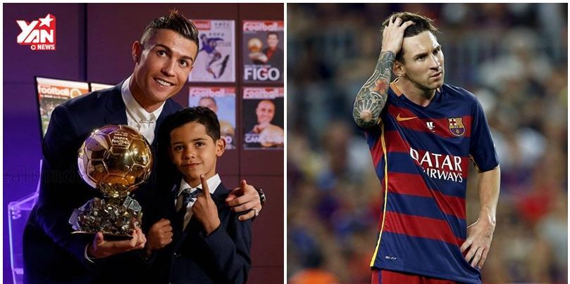 Ronaldo đánh bại Messi, chính thức giành Quả bóng vàng 2016