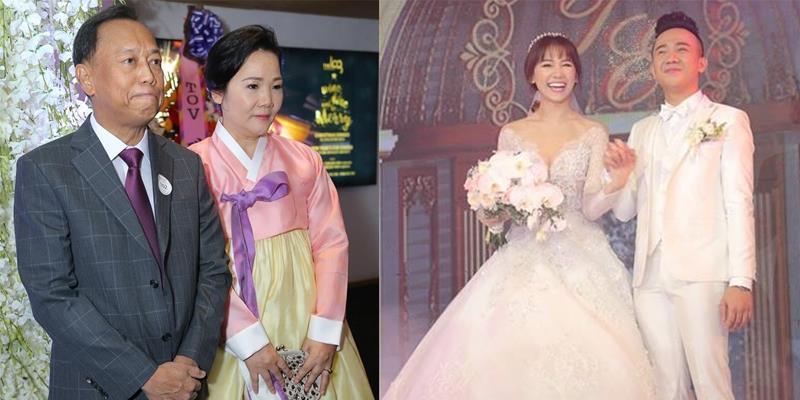 yan.vn - tin sao, ngôi sao - Bố Hari Won bất ngờ rời tiệc cưới vì sức khỏe chuyển biến xấu