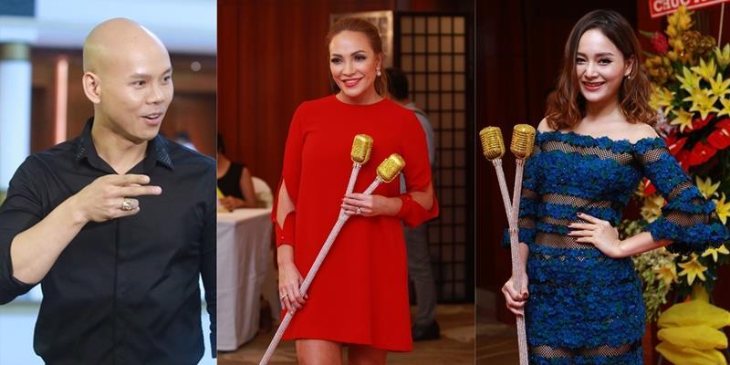 yan.vn - tin sao, ngôi sao - Thanh Hà diện váy đỏ rực sóng đôi với người tình kém tuổi