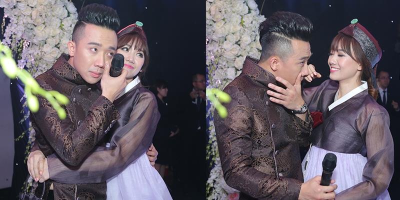 yan.vn - tin sao, ngôi sao - Hari Won diện hanbok xinh xắn, dỗ dành khi Trấn Thành khóc nức nở
