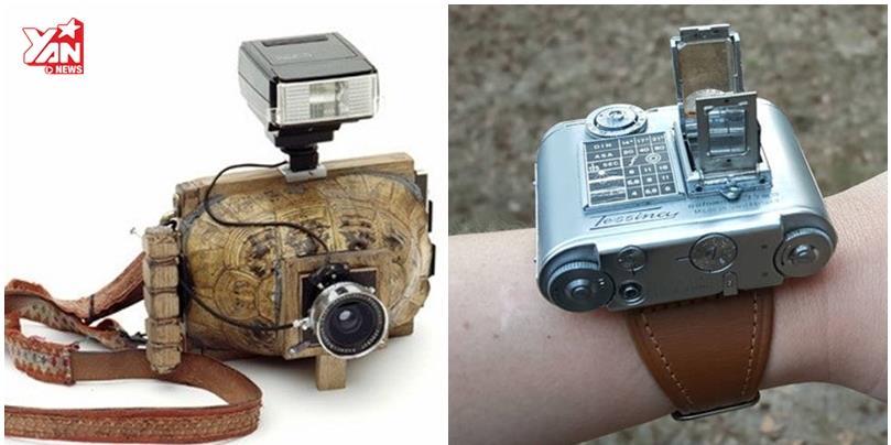 """Đây là những mẫu máy ảnh """"siêu dị"""" nhất trong lịch sử"""
