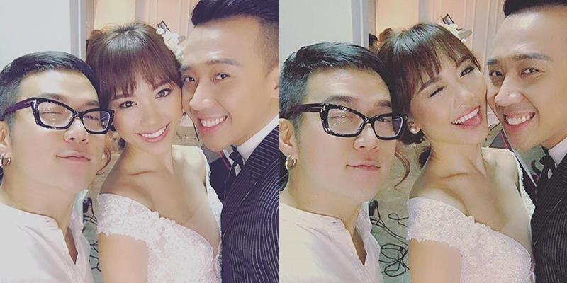 """yan.vn - tin sao, ngôi sao - Trấn Thành tươi cười rạng rỡ chụp ảnh cưới cùng """"cô dâu"""" Hari Won"""