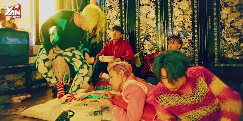 Big Bang đầy màu sắc trong MV có tên nhạy cảm