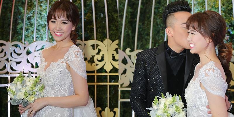 yan.vn - tin sao, ngôi sao - Ơn giời, cô dâu Hari Won xinh đẹp cuối cùng cũng đã xuất hiện rồi!