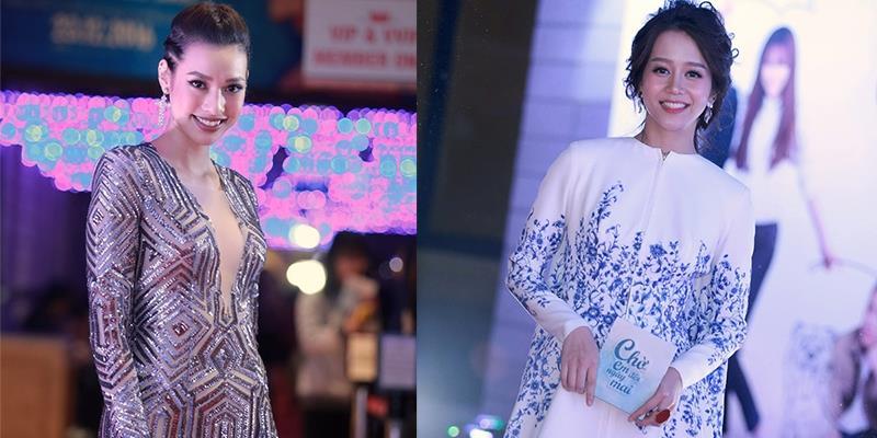 Lilly Nguyễn khoe khéo vòng một, An Nguy náo loạn buổi ra mắt phim