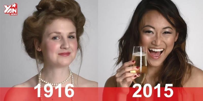 Phụ nữ trang điểm trong các ngày lễ thay đổi thế nào qua 100 năm