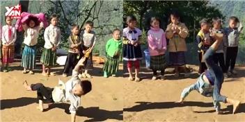 Choáng với màn nhảy điệu nghệ của các bé vùng cao