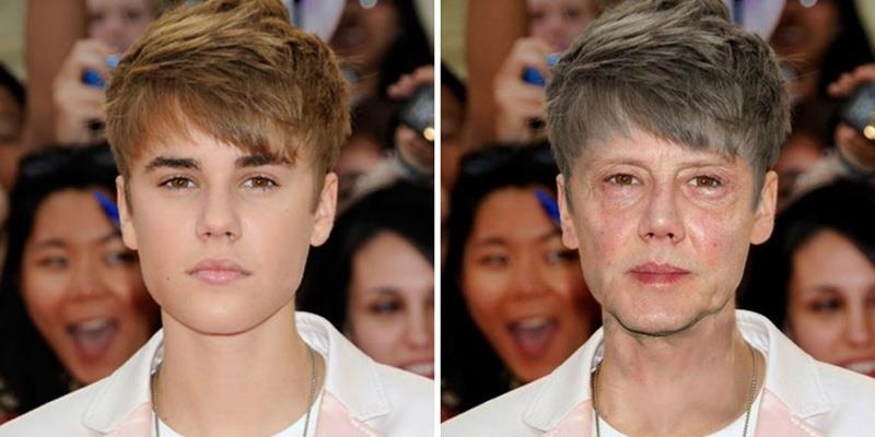 Người nổi tiếng sẽ có dung mạo như thế nào khi về già?