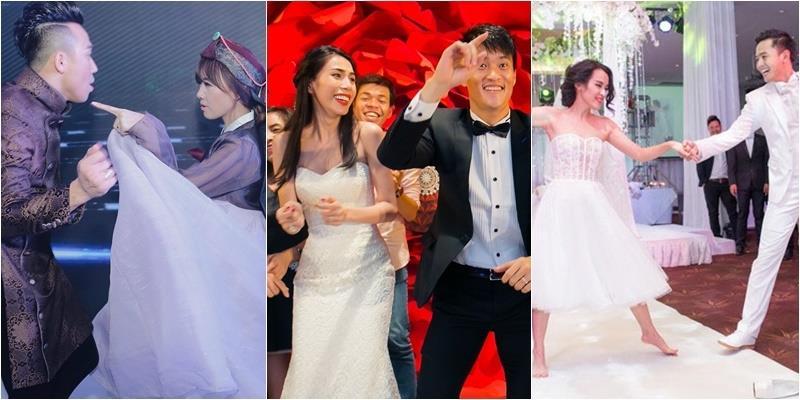 """yan.vn - tin sao, ngôi sao - Cặp vợ chồng sao Việt nào """"lầy"""" nhất trong đám cưới"""
