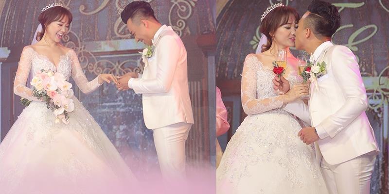 yan.vn - tin sao, ngôi sao - Trấn Thành hạnh phúc trao nhẫn và khoá môi Hari Won