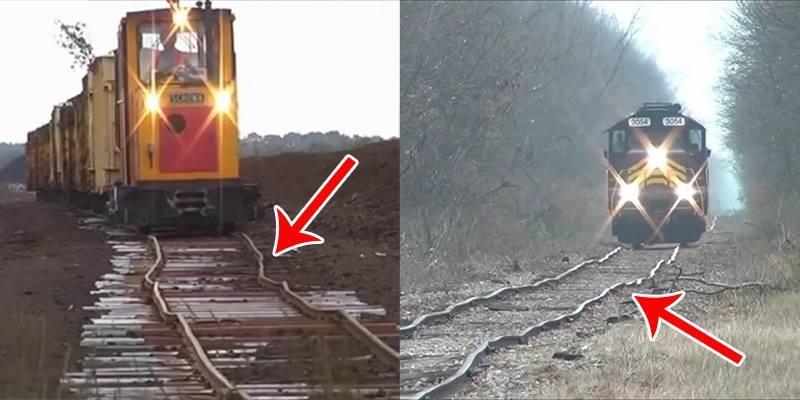 """Những con đường tàu hỏa """"bềnh bồng"""" không phải ai cũng dám thử"""