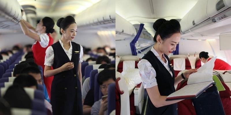 """Cận cảnh nhan sắc """"Nữ tiếp viên hàng không xinh đẹp nhất thế giới"""""""