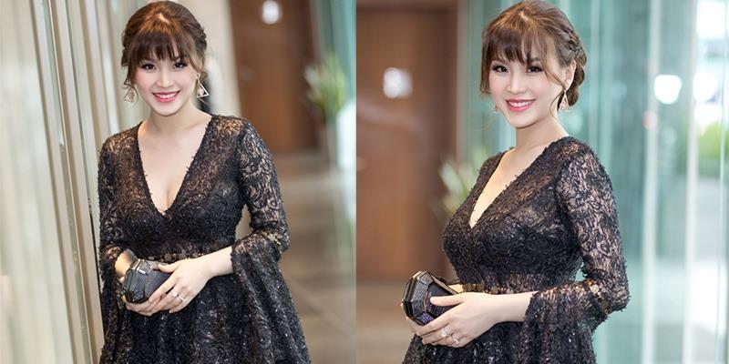 Dù chưa lấy lại vóc dáng nhưng Á hậu Diễm Trang vẫn đẹp đến nao lòng