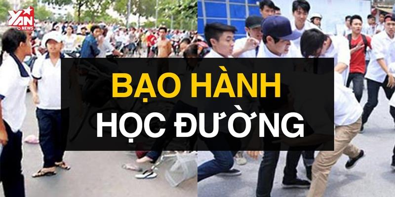 Báo động bạo lực học đường tại Việt Nam
