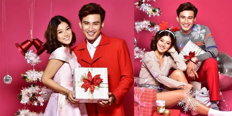 yan.vn - tin sao, ngôi sao - Chí Thiện - Hoàng Yến Chibi đẹp đôi trong bộ ảnh Giáng sinh