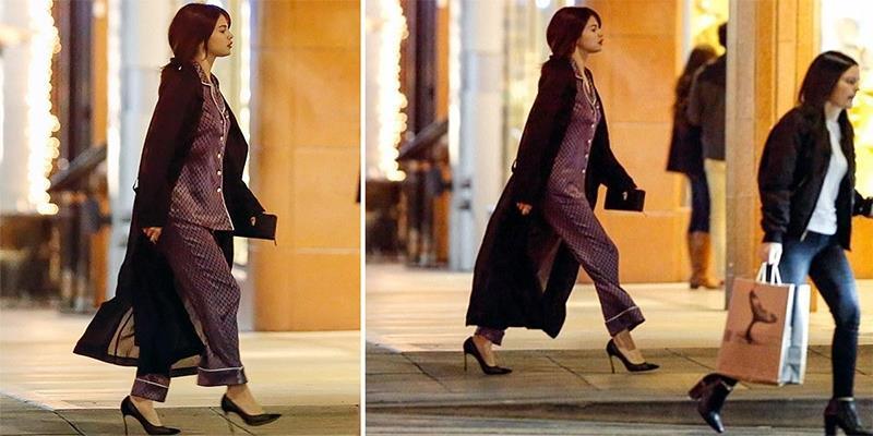 Selena Gomez chứng minh đã đẹp thì mặc đồ ngủ cũng đẹp
