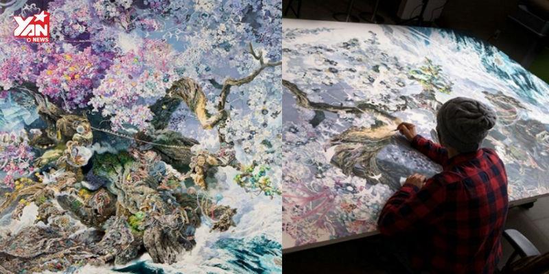 Hơn 3 năm miệt mài để nghệ nhân Nhật Bản tạo ra tuyệt tác này