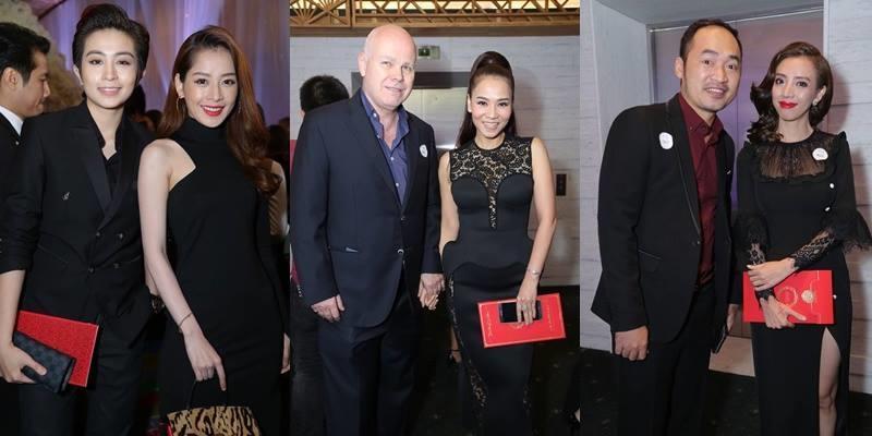 Dàn sao Việt nô nức đến chúc mừng hạnh phúc của Trấn Thành và Hari Won