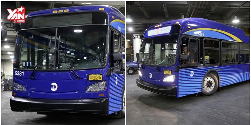 Choáng với siêu xe bus công nghệ cao ở New York