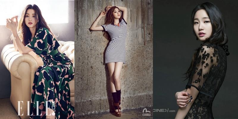 Hình tượng khác nhau một trời một vực của 3 nữ chính hot nhất