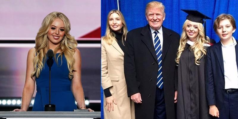 """Con gái út nhà Trump gây sốt với sự xuất hiện """"xuất sắc"""" tại Harvard"""