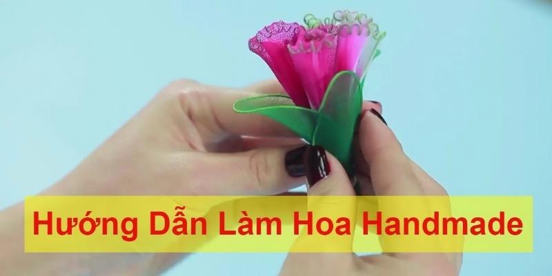 DIY || Hướng Dẫn Làm Hoa Handmade | Phần 2