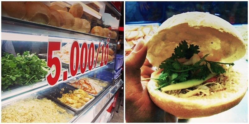 Ấm áp tình người Sài Gòn với bánh mì 5k đầy ụ thịt gà
