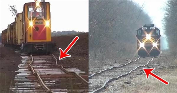 Những con đường tàu hỏa 'bềnh bồng' không phải ai cũng dám thử
