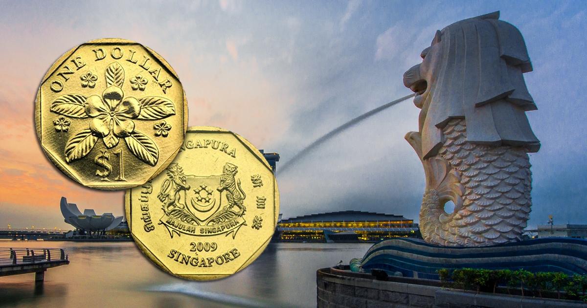 Bí ẩn đồng tiền bát quái trấn phong thủy của Singapore