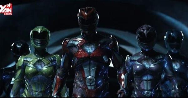 Power Rangers tung trailer ngầu không kém siêu anh hùng Marvel