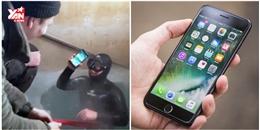 iPhone 7 Plus sống sót thần kì sau 13 giờ chìm dưới hồ băng