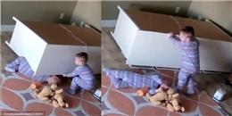 Cứu em song sinh, đây chính là cậu bé 2 tuổi đáng khâm phục nhất