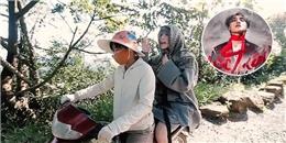 """Sơn Tùng M-TP ''cưỡi'' xe ôm đến trường quay MV """"Lạc trôi''"""