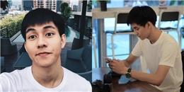 Hot boy trường Dược làm chao đảo cộng đồng mạng với diện mạo điển trai