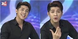 """Noo Phước Thịnh thể hiện giọng ca trên sóng truyền hình khiến MC """"há hốc"""""""