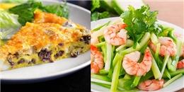 Thực đơn 4 món- 4 dễ: dễ nấu, dễ ăn, dễ ngon, và dễ ghi điểm