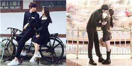 Cặp 'đũa lệch' xứ Hàn bỗng nổi tiếng nhờ những bức ảnh lãng mạn