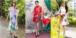 Năm Dậu, cùng diện váy áo họa tiết gà cho đúng điệu!