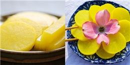 Phá cách với món củ cải muối vàng cực ngon của người Hàn Quốc