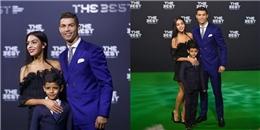 Ronaldo chính thức giới thiệu bạn gái mới tại Gala trao giải của FIFA