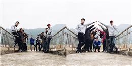 'Rớt hàm' với màn 'trình diễn' catwalk siêu hài của nhóm phượt trẻ