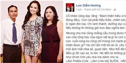Sau thời gian 'từ mặt', bố mẹ Diễm Hương đã chịu tha thứ cho con gái?