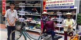 Cảm động: cụ ông mang sổ hộ nghèo đi nhận quần áo từ thiện