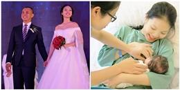 Vợ kém 20 tuổi của Chí Anh sinh con gái đầu lòng