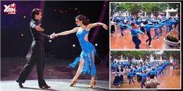 """Hơn 800 học sinh tiểu học cùng nhảy """"Cha cha cha"""""""