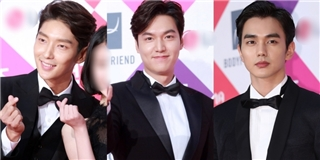 """Lee Min Ho một mình """"cân"""" cả dàn mĩ nam trên thảm đỏ"""