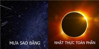Những hiện tượng thiên văn siêu hot sẽ xuất hiện trong năm 2017